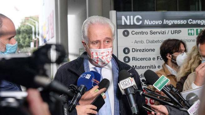 Il presidente della Toscana, Eugenio Giani (New Press Photo)