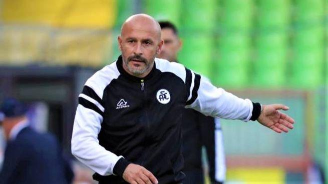 L'allenatore Vincenzo Italiano (da acspezia.com)