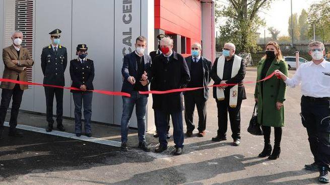 L'inaugurazione del nuovo centro medico sul circuito in vista del grande ritorno della F1