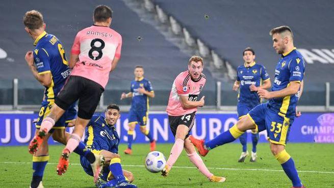 Juventus-Hellas Verona (Ansa)