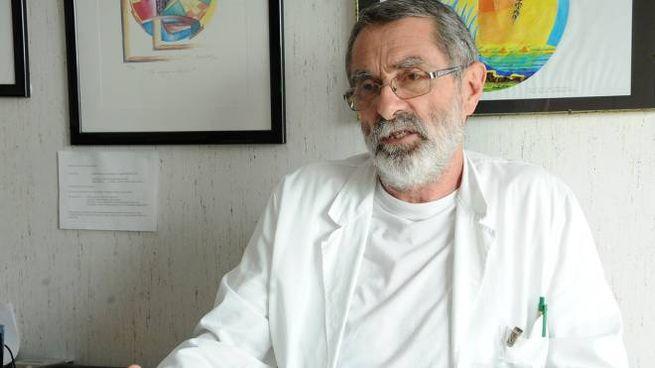 Paolo Viganò, primario del reparto di malattie infettive di Legnano