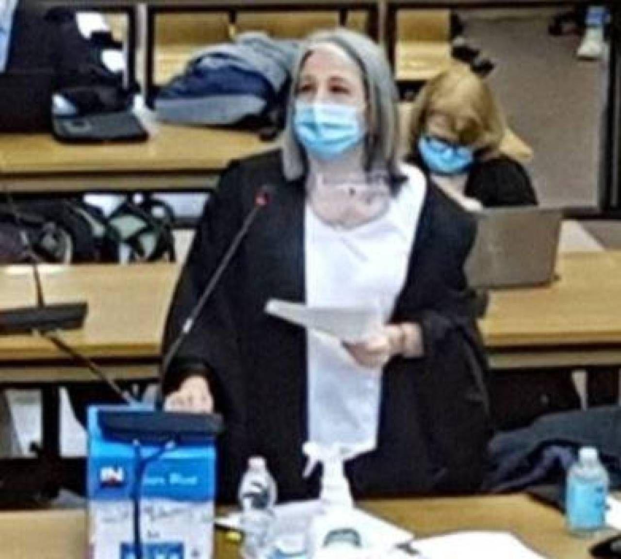 Il pm Beatrice Ronchi che ha formulato le richieste di condanna per il processo Grimilde