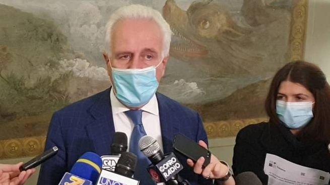 Il presidente della Regione Toscana Eugenio Giani