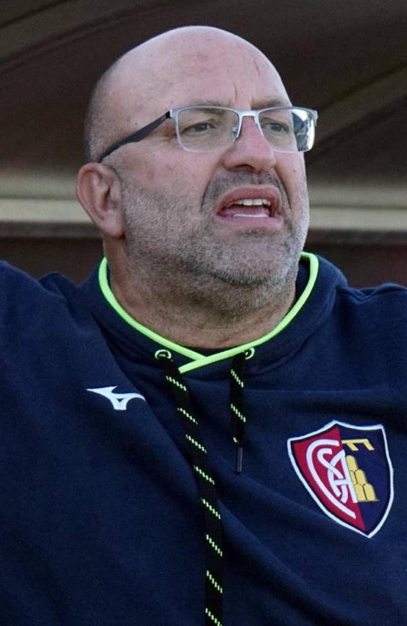 L'allenatore Roberto Malotti