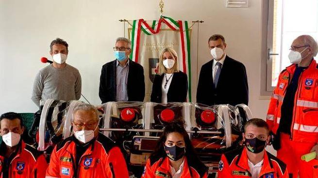 Mirko Dormentoni, Giuseppe D'Eugenio, Lucia Aleotti, Alberto Giovanni Aleotti
