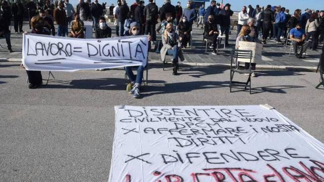 Manifestazione Viareggio