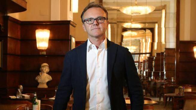 Marco Valenza, titolare degli storici caffè Gilli e Paszkowski di piazza della Repubblica