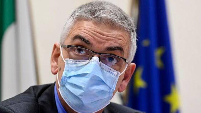 Covid, il presidente dell'Iss Silvio Brusaferro (Ansa)