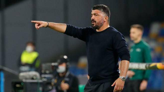 Europa League, il Napoli di Gattuso deve riscattare il ko d'esordio contro l'AZ (Ansa)