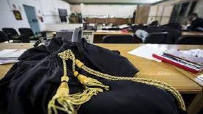 Un'aula di giustizia
