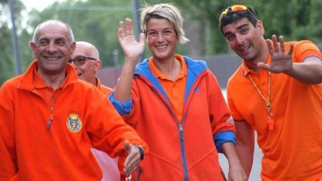 Marcello Contavalli (primo a sinistra), presidente Marshal's Team, ha grande esperienza