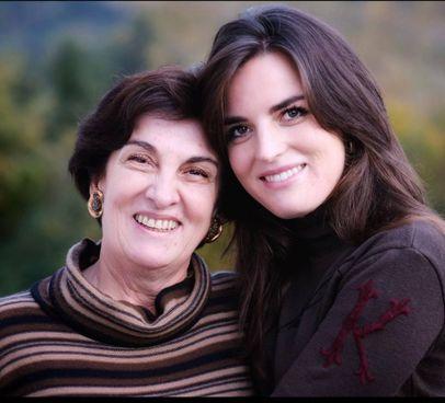 Margherita Giampietri e la figlia Fiamma Allemano, originarie di Bagnone