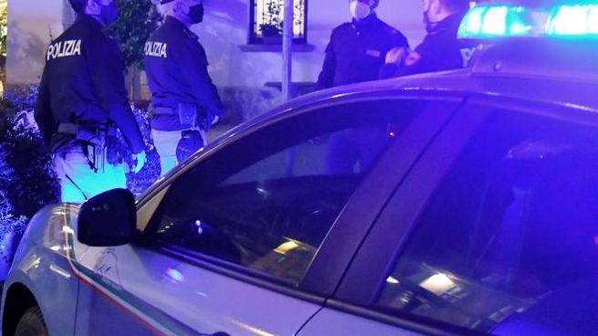 Polizia in azione a Como in una foto di repertorio (Cusa)