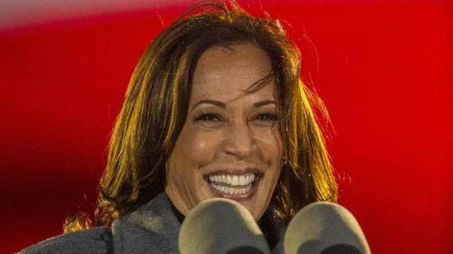 Kamala Harris, 54 anni, potrebbe essere la prima donna vicepresidente degli Usa (Ansa)