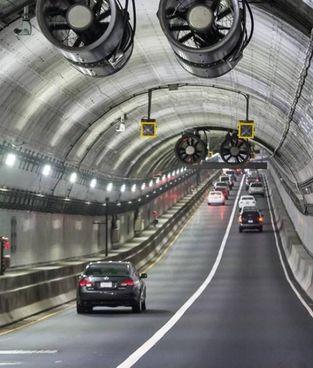 Uno dei tunnel di Hampton Roads, in Virginia (Usa),. che finiranno sotto il controllo di Atlantia