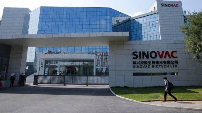 Il quartier generale della Sinovac (Ansa)