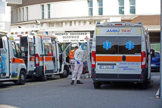 Il pronto soccorso dell'ospedale San Gerardo di Monza (ImagoE)