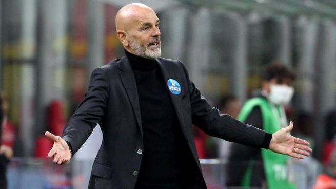 Stefano Pioli, allenatore dl Milan (Ansa)