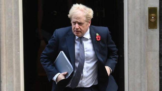Boris Johnson in isolamento dopo contatti con un positivo al Covid (Ansa)