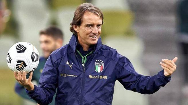 Roberto Mancini ancora in quarantena (Ansa)