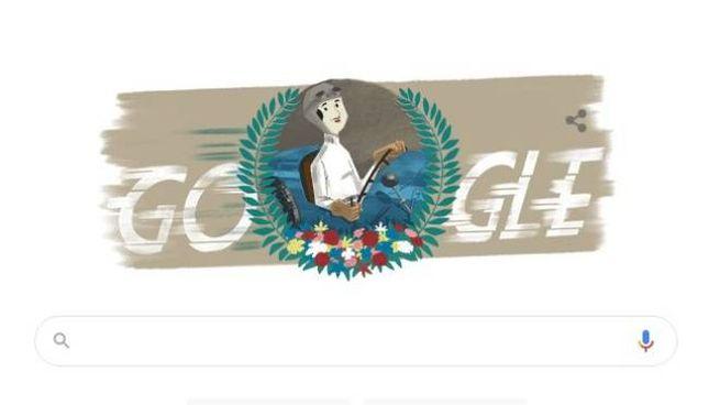 Il doodle dedicato a Eliška Junková