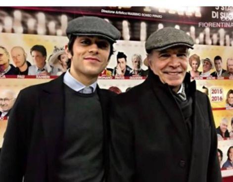 Marco Valerio Montesano, 22 anni, con papà Enrico, 75 anni
