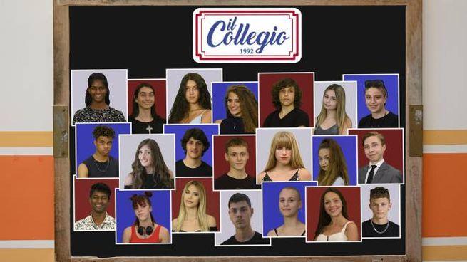 Il cast de Collegio 5