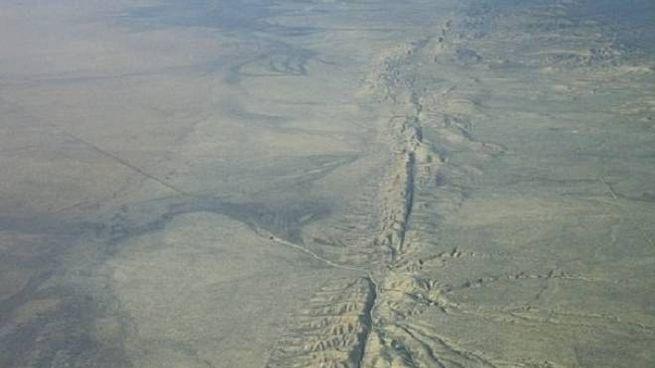 La faglia di San Andreas