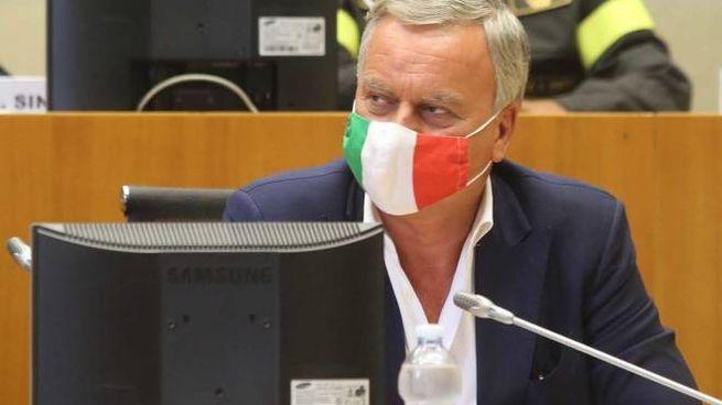 Il sindaco Dario Allevi