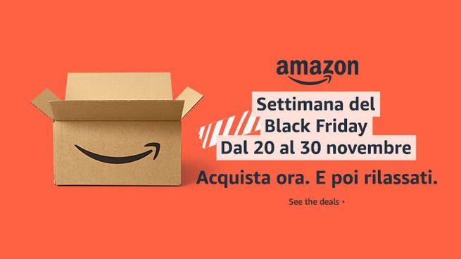 Amazon settimana del Black Friday