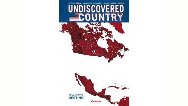 La copertina di Undiscovered Country vol.1  (Saldapress)