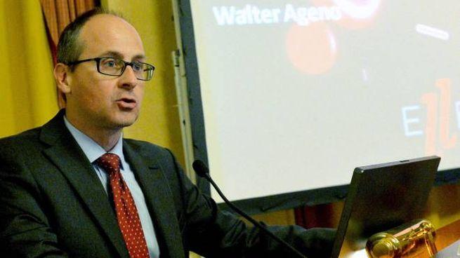 Il professor Walter Ageno
