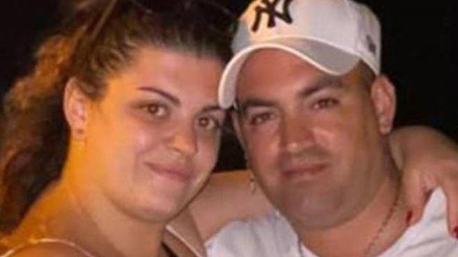 Maria Fernanda Carpentieri con il marito Christian