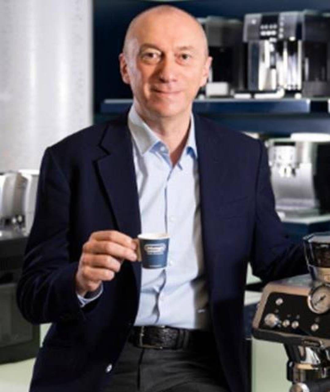 Massimo Garavaglia, 54 anni, amministratore delegato e direttore generale della società De' Longhi