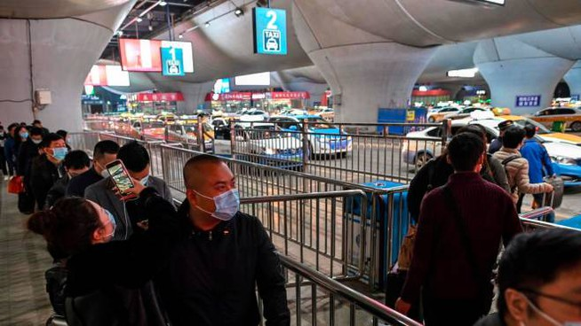 A Wuhan una grande conferenza dedicata al commercio digitale (Ansa)