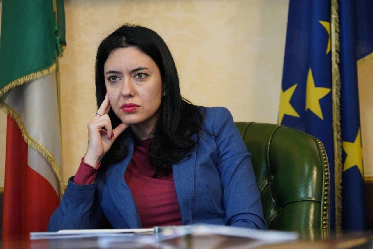 Il ministro dell'Istruzione Lucia Azzolina (foto Imagoeconomica)