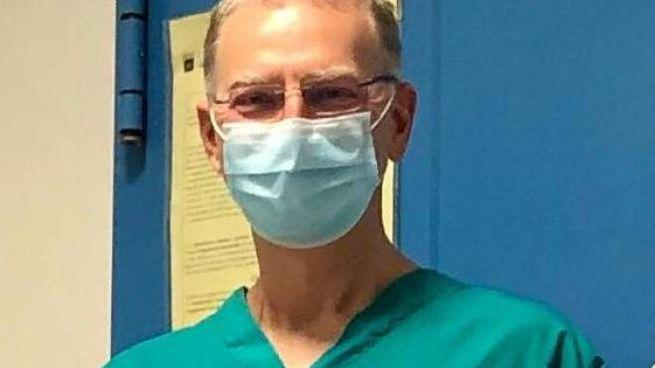 Il dottor Massimiliano Desideri, dirigente medico nella Uo di Pneumologia