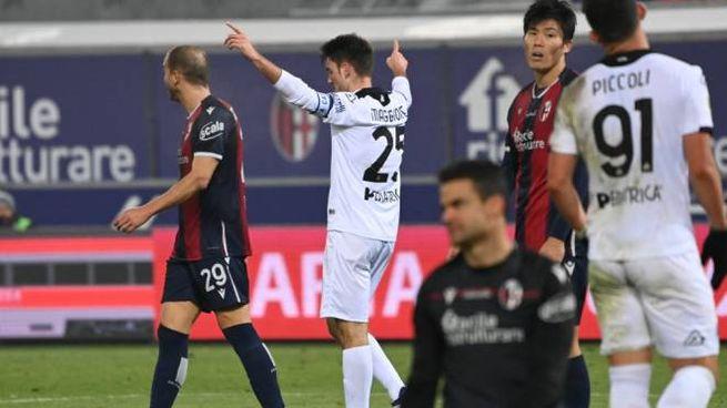 Bologna eliminato dalla Coppa Italia, Spezia avanti (foto Schicchi)