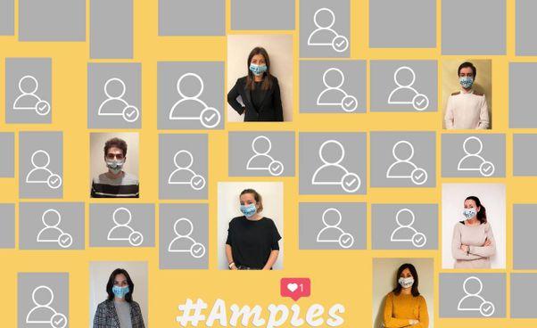 Un'immagine del portale di 'Ampies', una piattaforma creata per stimolare i consumi 'made in Reggio'