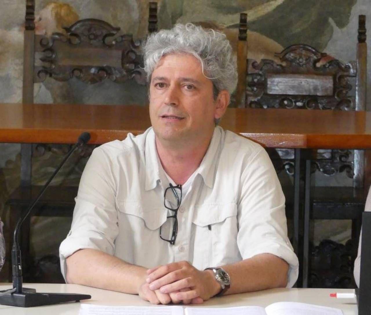 Alessandro Gibertoni di Porta Aperta Onlus ha illustrato le attività svolte nell'ultimo anno