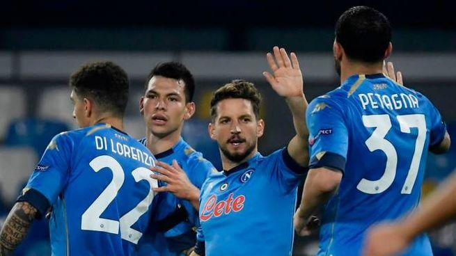Il Napoli batte il Rijeka ed è primo nel girone (Ansa)