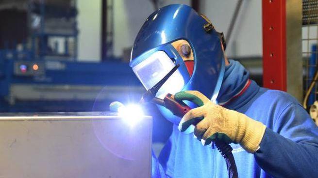 Un'azienda metalmeccanica