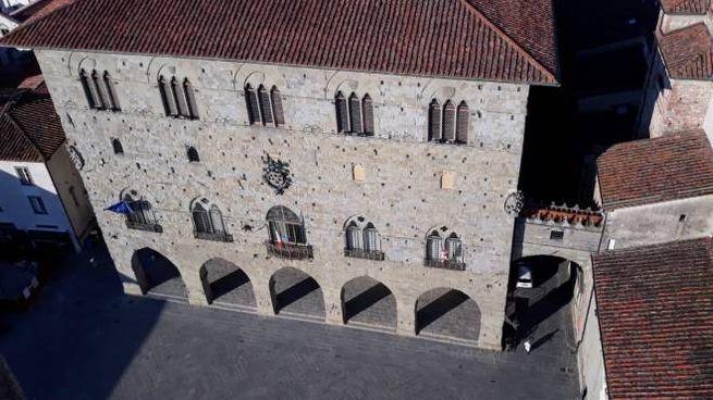 Pistoia, Palazzo comunale dall'alto