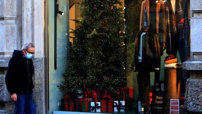 Vetrine natalizie a Milano