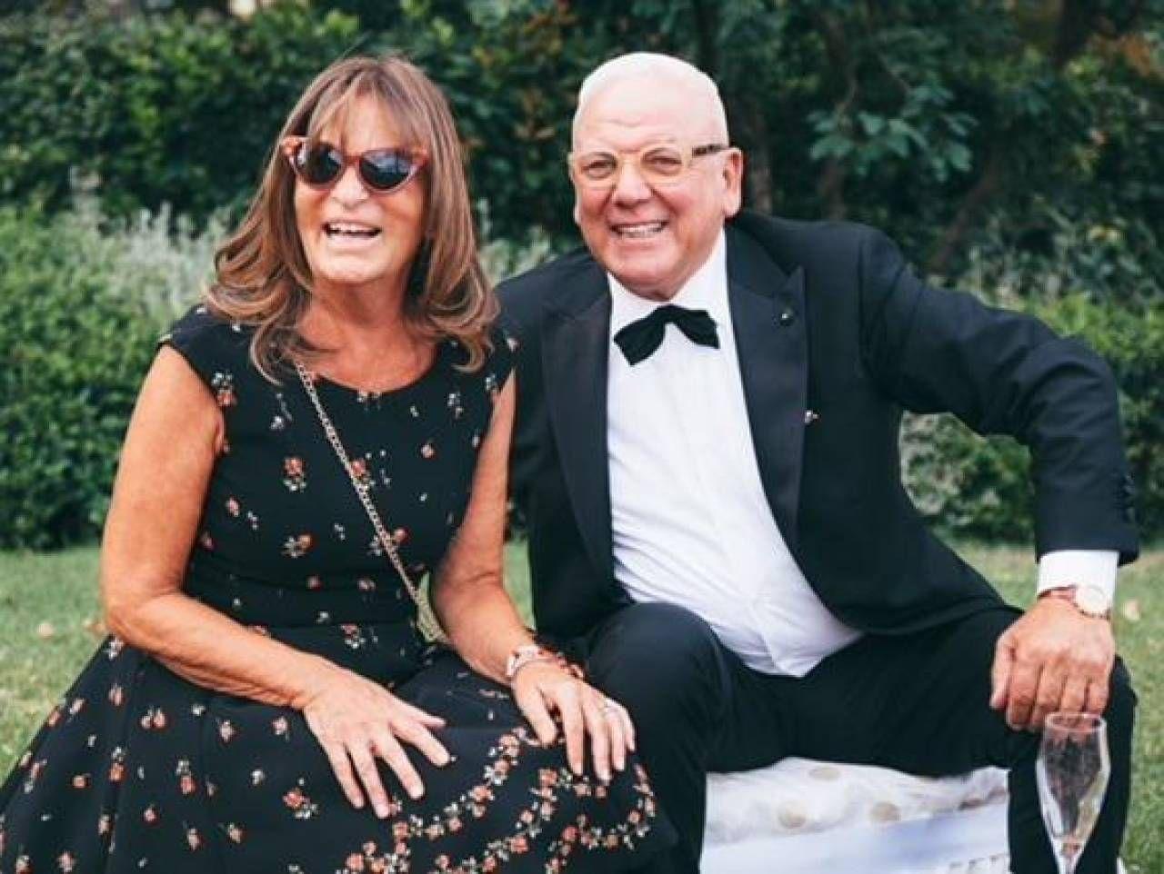 Piero Jacomoni, fondatore di Monnalisa, insieme alla moglie Barbara Bertocci, creativa del gruppo