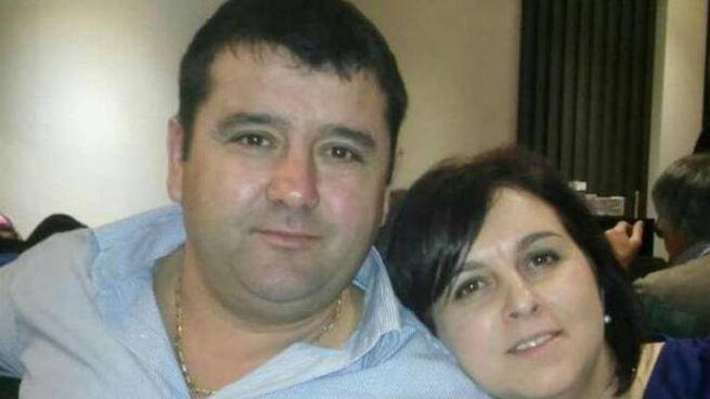 Gheorghe Ivan e la moglie