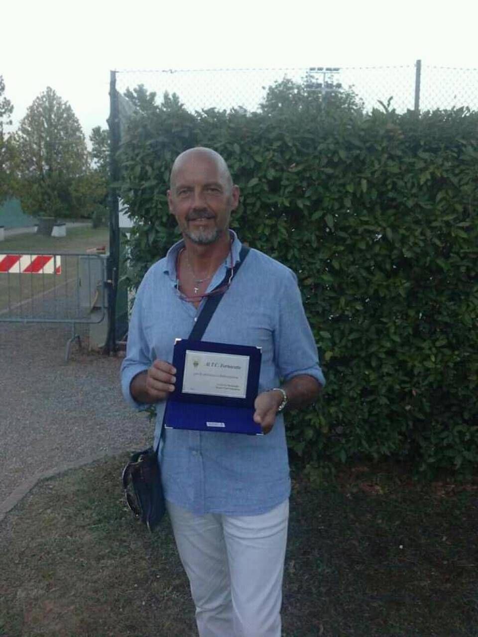 Riccardo Pertici, presidente del Tennis club Fornacette