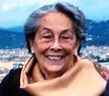 La principessa birmana June Rose Bellamy, è morta a. 88 anni a Firenze martedì scorso