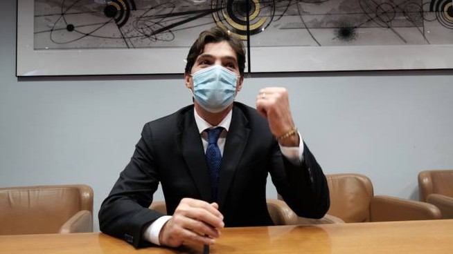 Francesco Acquaroli presidente della Regione Marche