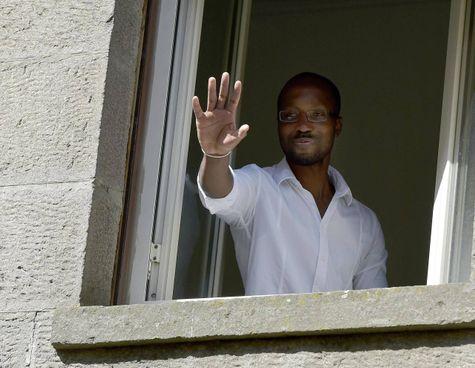 Rudy Guede, 34enne, ivoriano, condannato a 16 anni di carcere per il delitto di Perugia, è stato affidato ai servizi sociali